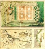 """""""Plan von Neu Ebenezer. From Samuel Urlsperger, Ausfürhliche Nachrichten von den saltzburgischen emigranten."""" Published by Matthaeus Seutter, 1747."""