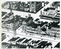Old Downtown Columbus Drawings