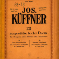 BE18-20 Selected Easy Duets for 2 trumpets (Jos. Kuffner).pdf
