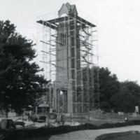 Clock Tower Construction 1991