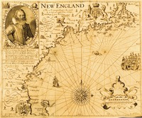 New England, by Captain John Smith. 1616. From The Generall Historie of Virginia, New-England, and the Summer Isles, 1624.
