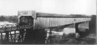 One of Horace King's Covered Wooden Bridges that Linked Columbus to Phenix City.
