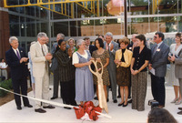 Coca Cola Space Science Center Ribbon Cutting 2001