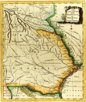 """A New and Accurate Map of the Province of Georgia in North America."" From Universal Magazine. London: J. Hinton, 1779."