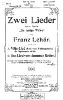 BB17-Lehar-2 songs- Vilja Lied & Das Lied Von dummen Reiter.pdf
