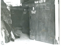 Photograph of the Doors of the Gas Chamber