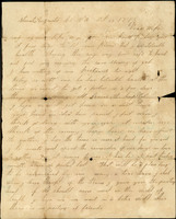 Letter from Fuller to Wife, Augusta County, Virginia, October 22, 1862